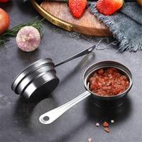 Kitchen Stainless Steel Measuring Cup Coffee Bean Spoon Sugar Coffee Beans Powder Scoop Milk Powder Spoon Baking Accessories