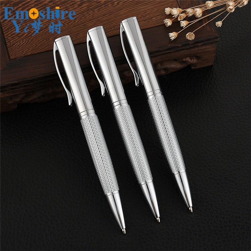 Nueva papelería oficina de negocios Bolígrafo de metal personalizado empresa moda con logotipo regalo Retro bolígrafo de publicidad P587