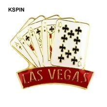 Las Vegas Metall Revers Pin Abzeichen Anime Icons kinder Brosche XY0348