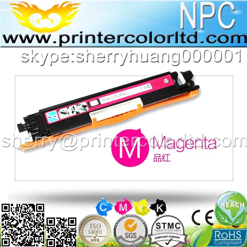 Para HP CF350A CF351A CF352A CF353A 130A Cratridge CF350 CF351 352 353 Para HP Impressoras de Toner Para HP Color laserjet M176 M177