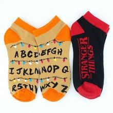 Stranger things Short Socks Colorful Stockings Tight Cute Fashion Ankle Casual Dress Socks Cosplay Gift Otaku