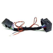 Adaptateur dautoradio ISO câble de commutateur   RCD330 RCD510 RCD310 RNS510 CD Player, peut pour VW Polo Jetta Golf Tiguan Passat CC