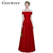 Robe De soirée bordeaux robes De soirée longue fête élégante Robe de fête longue bal Abiye Gece elbisesi Vestido De Noche