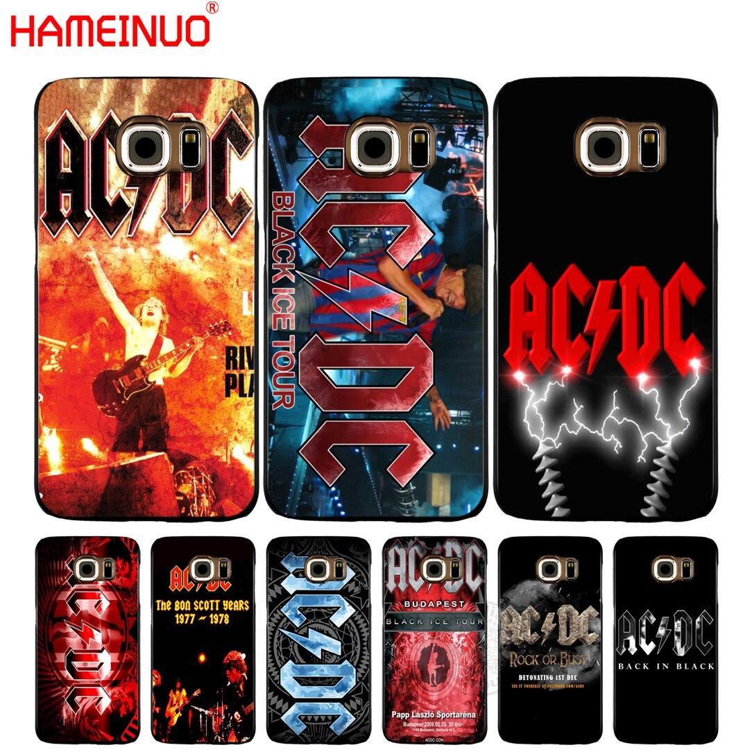 Чехол для мобильного телефона HAMEINUO Ac Dc Black ice Heavy Metal Music Band, чехол для Samsung Galaxy S7 edge PLUS S8 S6 S5 S4 S3 MINI