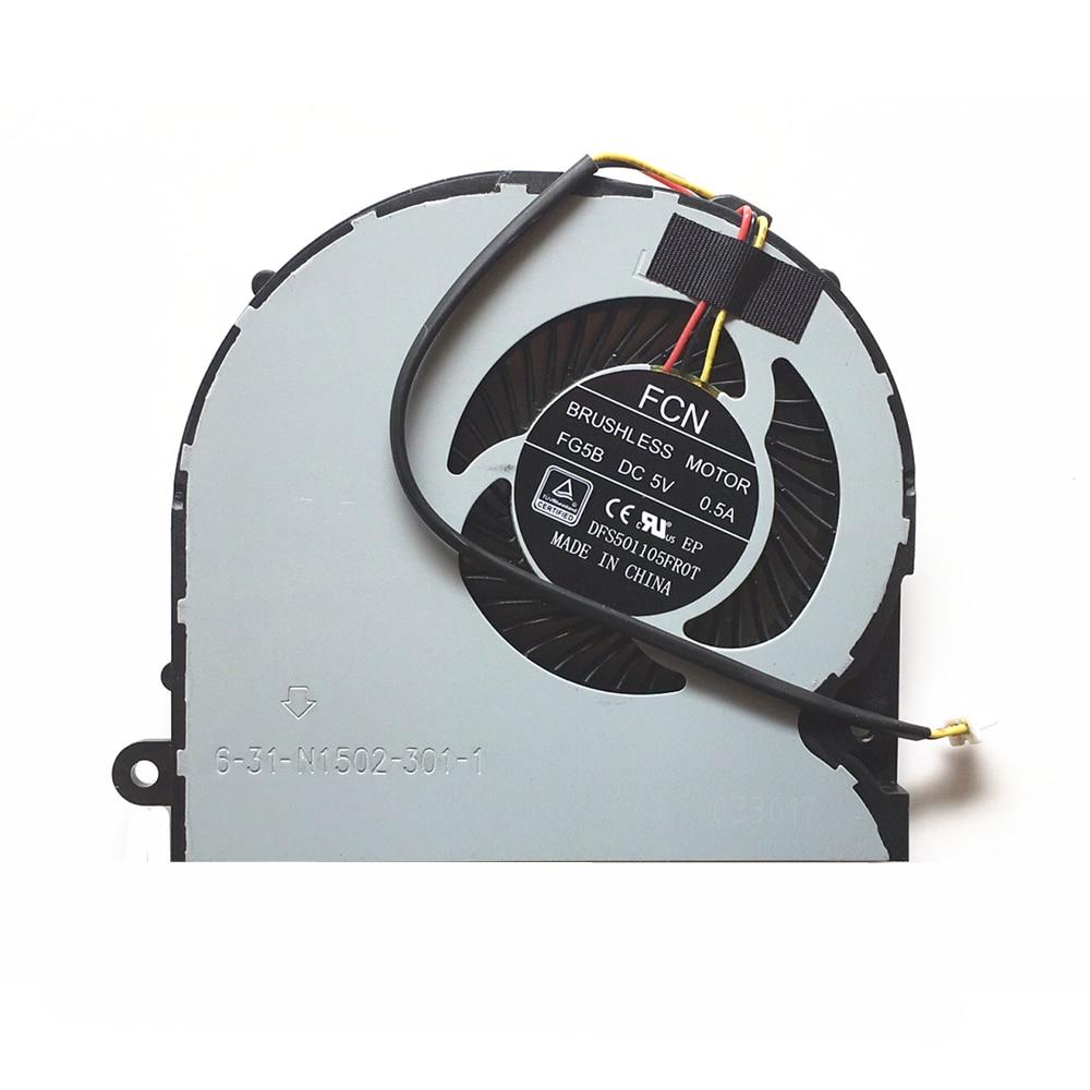Laptop Cpu Fan For Machenike T57 Cpu Cooling Fan And Gpu Fan