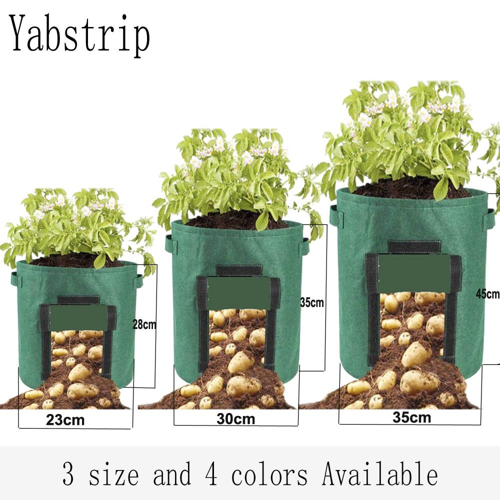 Plant Growth Bag home garden Potato greenhouse Vegetable Planting Bag Moisturizing jardin Vertical G