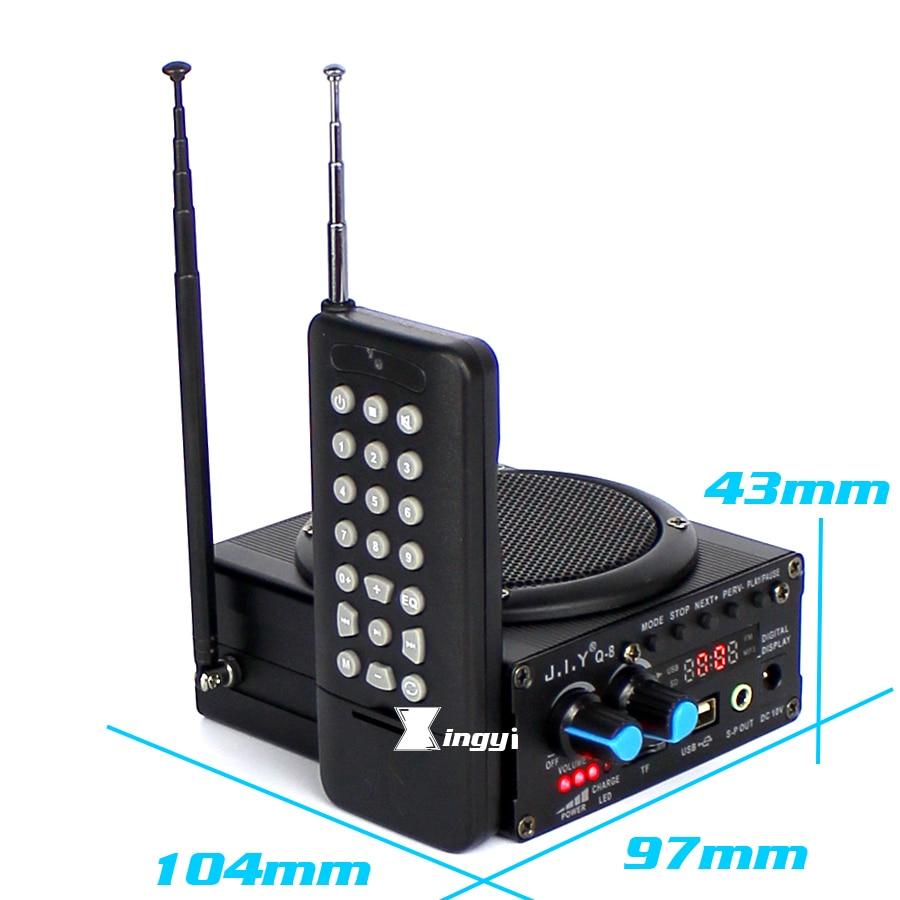 Q-8 48W 500m Remote Control Hunting Mp3 Bird Caller Trap Birds Sound Player Hunt Duck Decoy Equipment USB Speaker Mini Amplifier enlarge