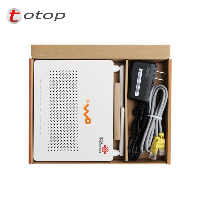 Huawei GPON EPON ONU HG8347R 1GE+3FE+1TEL+1USB+Wifi English Firmware Wireless Terminal Same Function as HG8546M ONT