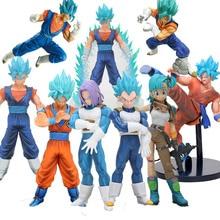 Dragon Ball Z DE SUPER WARRIORS Super Saiyan 4 God SS vegetto vegito blauw haar dragonball goku bulma Collection Figuur speelgoed