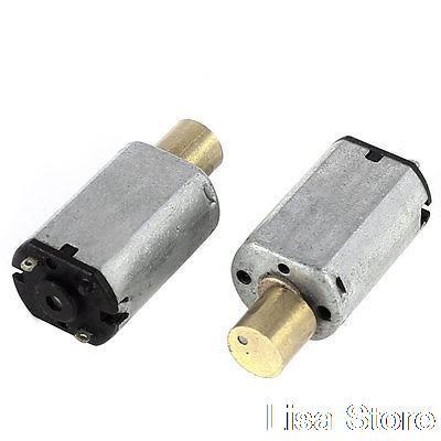 2 Pcs Electric Toys Replacement Mini Vibration Motor DC 1.5-4V 15000RPM N20