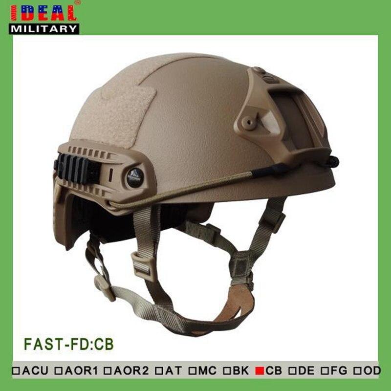 Tactical Outdoor Hunting Airsoft Shooting NIJ IIIA FAST Bulletproof Helmet Core Ballistic Helmet Camo Bullet Proof Helmet