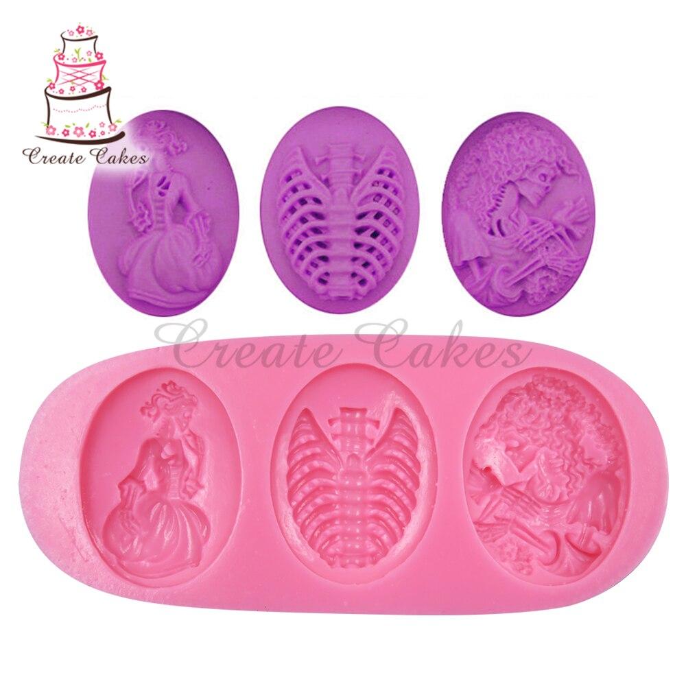 Силиконовая форма для торта, форма для украшения тортов мастикой сахарный шоколадный, аксессуары для кухни, SM-103