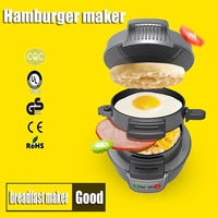 1PC Healthy breakfast maker hamburger multifunction household machine hamburger sandwich maker For children