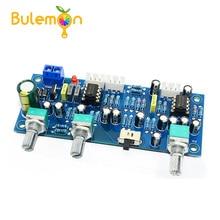 CIRMECH 2,1 Kanal Subwoofer Vorverstärker Board Low Pass Filter Pre-AMP Verstärker Bord NE5532 Low Pass Filter Bass Vorverstärker