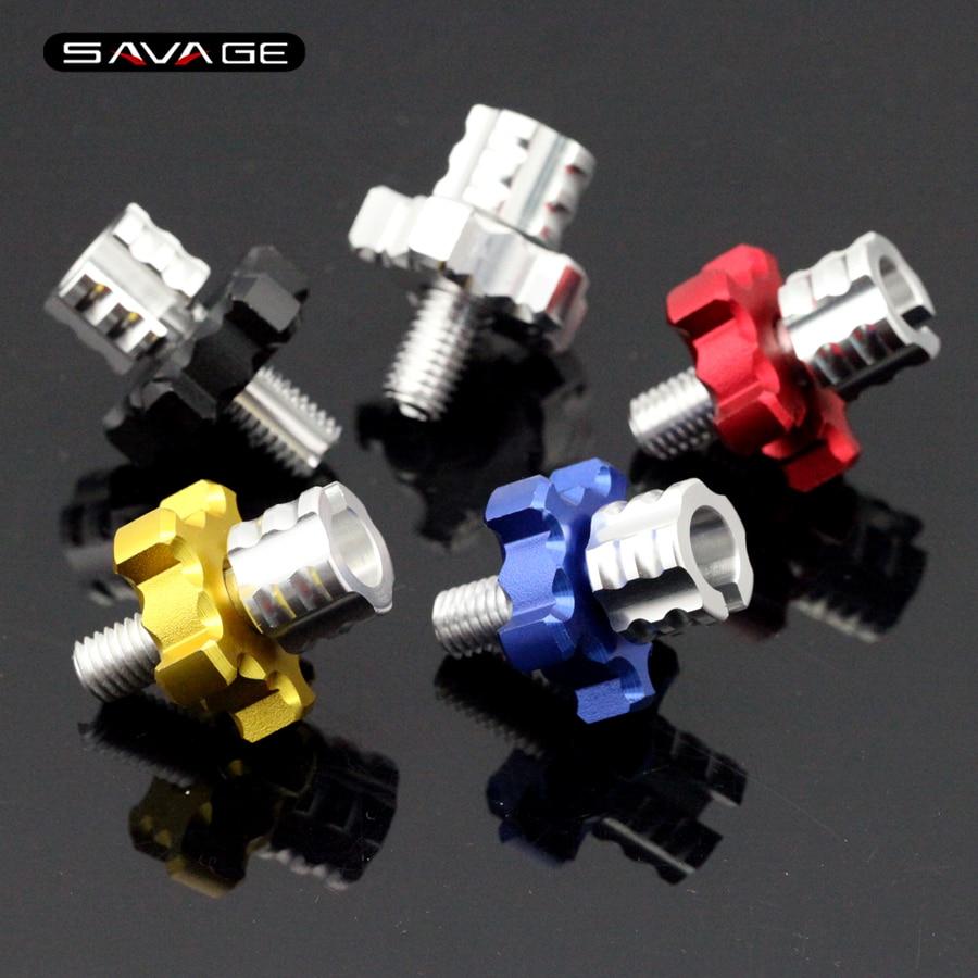 5 colores para HONDA CBR600 F4I CBR650F CB650F palanca CNC de motocicleta embrague tornillo de ajuste de cable de alambre M8 * 1,25