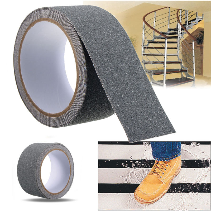 MTGATHER Floor Safety Non Skid Tape Roll Anti Slip Adhesive Stickers High Grip Grey 300cm x 5cm