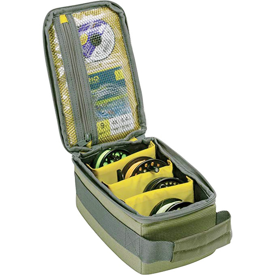 Bolsa de carretes de pesca con mosca NEWBOLER, bolsos con cubierta de carrete de pesca, bolsa de caña de aparejo, caja de equipo de pesca, bolsa de pesca