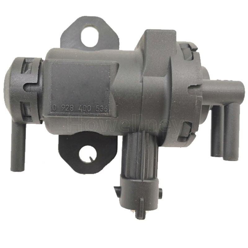 0928400536 0928400464 transductor de presión, turbocompresor, válvula solenoide para Opel Signum Vectra Vivaro Renault 3024379