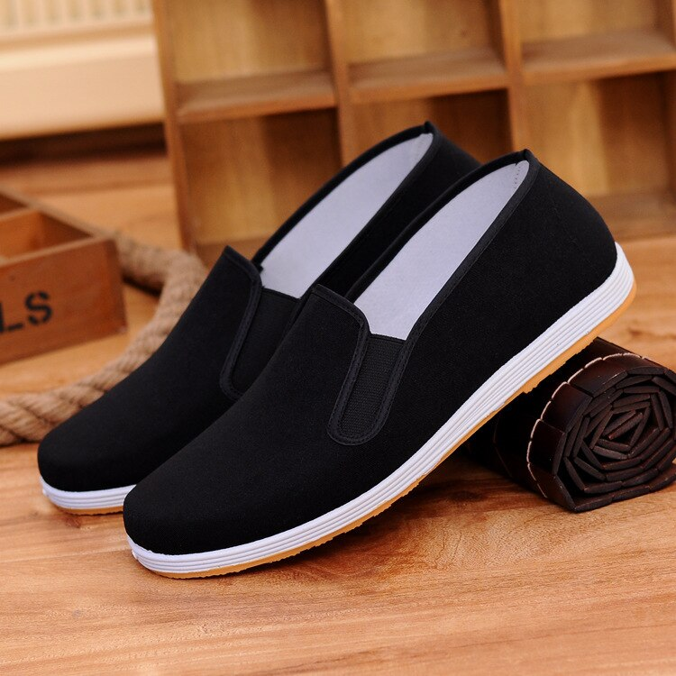Sneakers Which Shoes Man Super Soft Towel Driver Skid Casual shoes Oxford Flat Canvas Walking China Retro Shoes