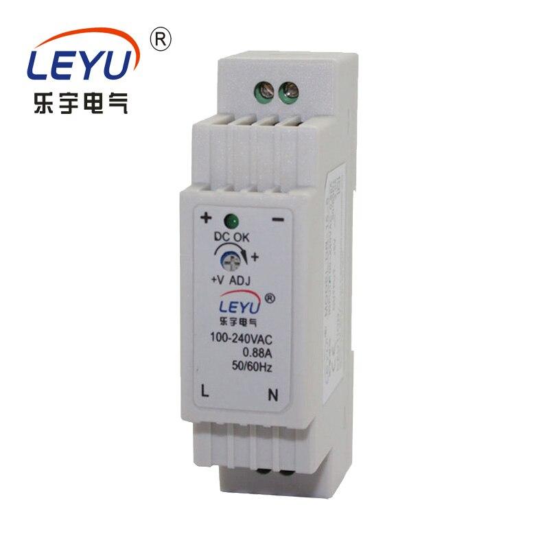 Fácil de instalar serie DR-15 salida única 5V 12V 24V din rail switching fuente de alimentación