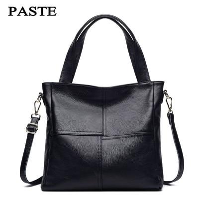 Genuine Leather Bag Female Luxury Handbags Women 6P0733 best in the market
