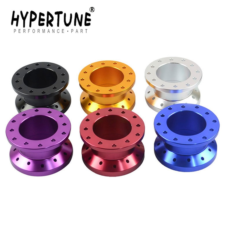 Hypertune - 12 отверстий рулевое колесо повышающее устройство/удлинитель адаптер 5 см рулевое колесо прокладка HT-SWF11