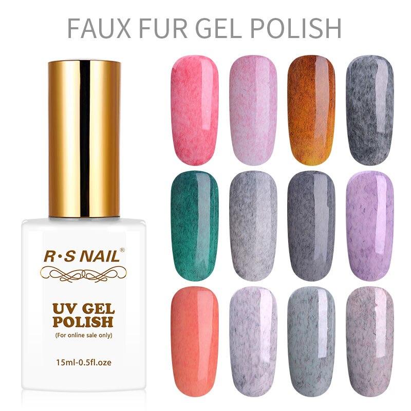 RS Nail-esmalte de Gel permanente para uñas, laca para uñas de gel...