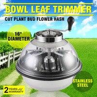 16 Heavy Duty Hydroponic Pro Bowl Trimmer Manual Leaf Bud Trim Reaper Cutter