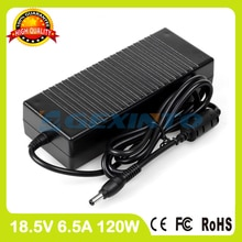 Laptop ac adapter 18,5 v 6.5a 120 watt 316688-003 317188-001 hp-ow120f13 7 selbst für hp pavilion zd7000 zd7100 zd7200 zd7300 ladegerät