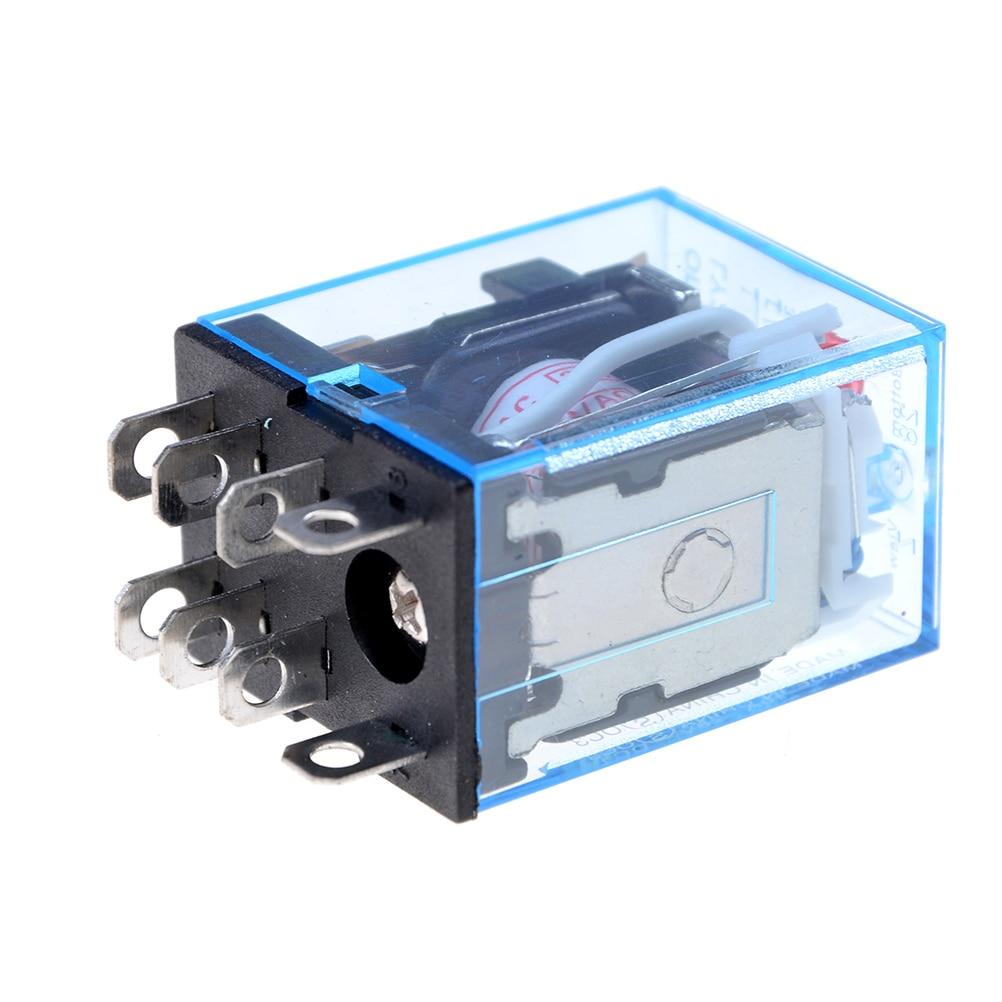 1 pçs ptf08a ly2nj hh62p relé 220 v ac bobina de alta qualidade propósito geral dpdt micro mini relé ou suporte base soquete