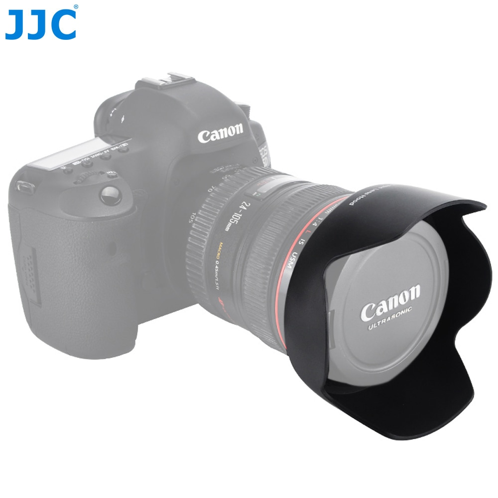 JJC Lens Hood For CANON EF LH-83H 24-105mm f/4L IS Usm Substitui CANON EW-83H acessórios Para A Câmera