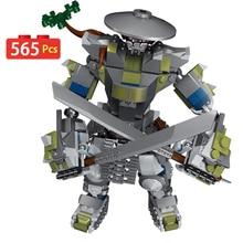 Twórcy Meche roboty klocki kompatybilne Ninjagoed chłopcy przyjaciele cegły kreatywne figurki edukacyjne zabawki dla dzieci