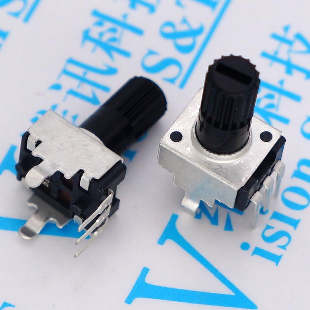 5 piezas 09 tipo RV09 mango largo pie vertical sello B503 50 K 0932 WH09 potenciómetro volumen