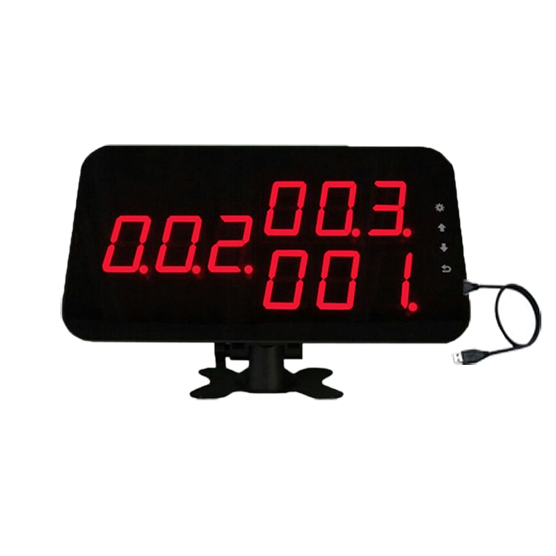 433.92MHZ Wireless Waiter Call Receiver Manage Calling Number System by PC for Restaurant Cafe Shop K-4-C-USB