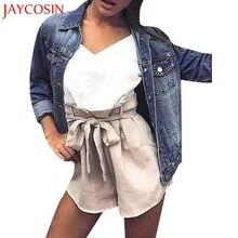 Women jacket autumn Denim Jacket Faded Ripped Fitted Vintage Boyfriend Oversized Coat veste courte femme Aut24