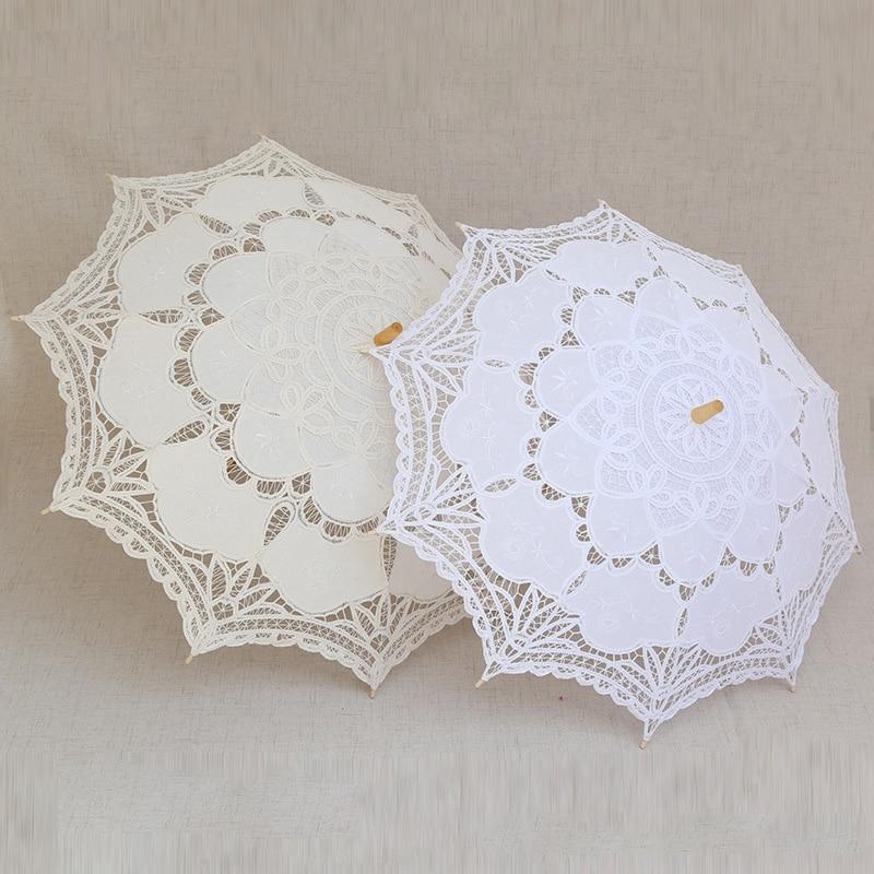 مظلة زفاف من الدانتيل ، مظلة زفاف يدوية ، إكسسوارات ، دش ، زفاف ، شحن مجاني ، 8