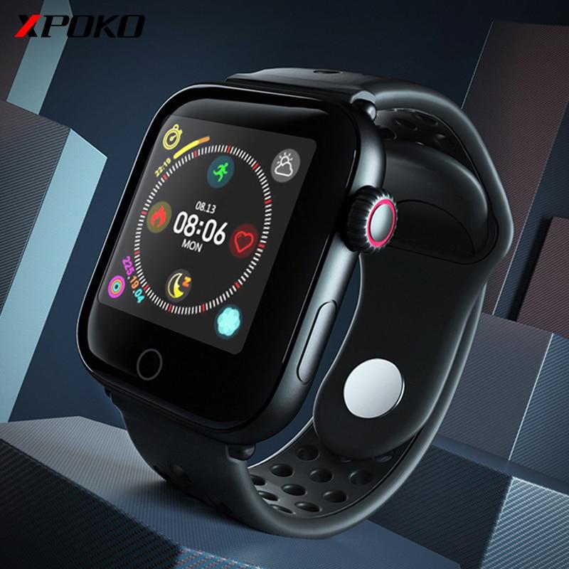 Reloj inteligente Z7 a prueba de agua para hombre con Monitor de ritmo cardíaco, pulsera de Fitness para presión arterial para iPhone iOS, relojes Android