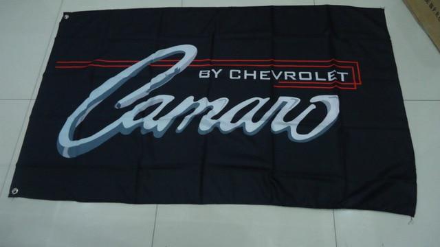 90*150cm winchester camaro Bandera negra