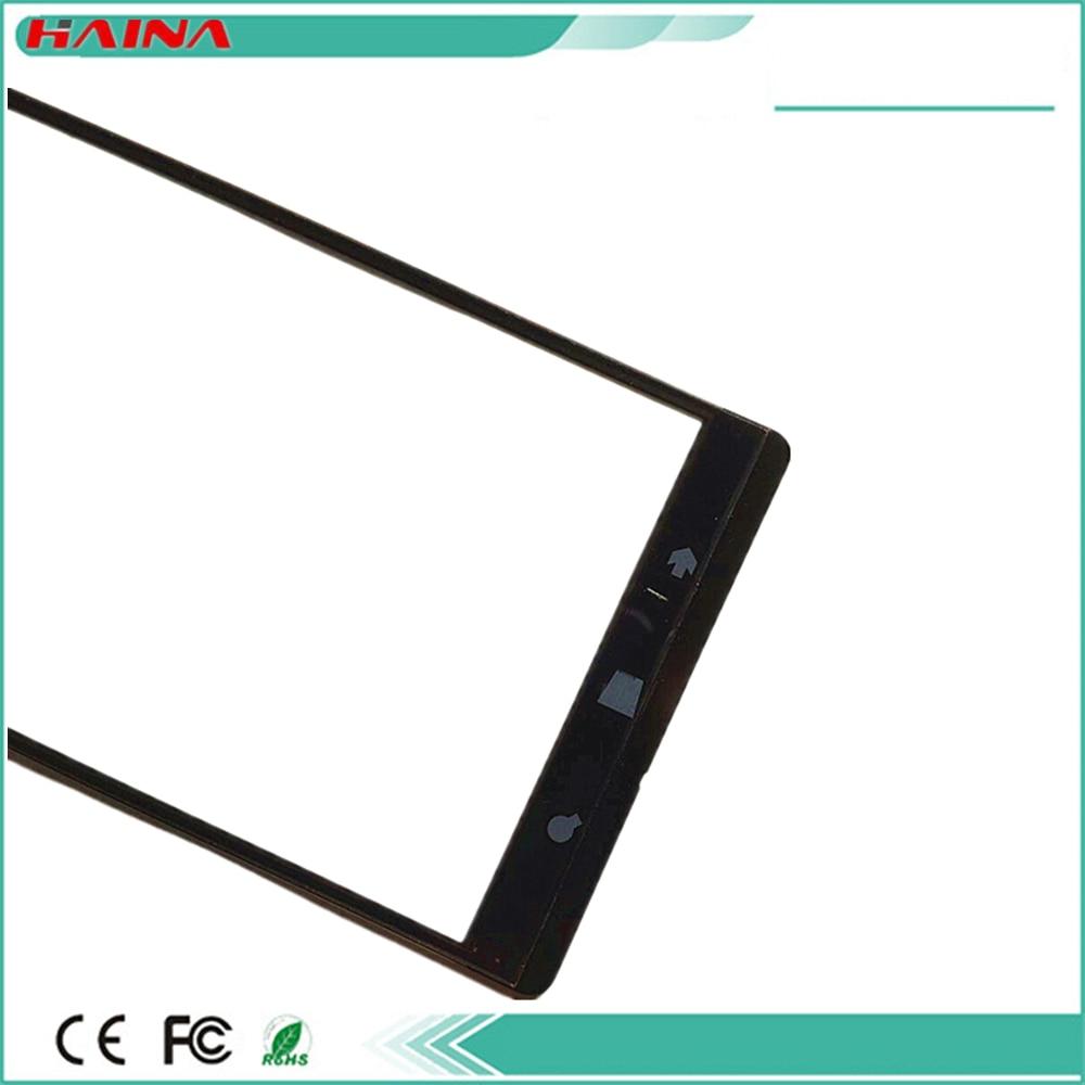 100% original para Nokia Lumia 1520 N1520 Digitalizador de pantalla táctil panel Sensor de vidrio frontal negro pantalla táctil Replacemant partes