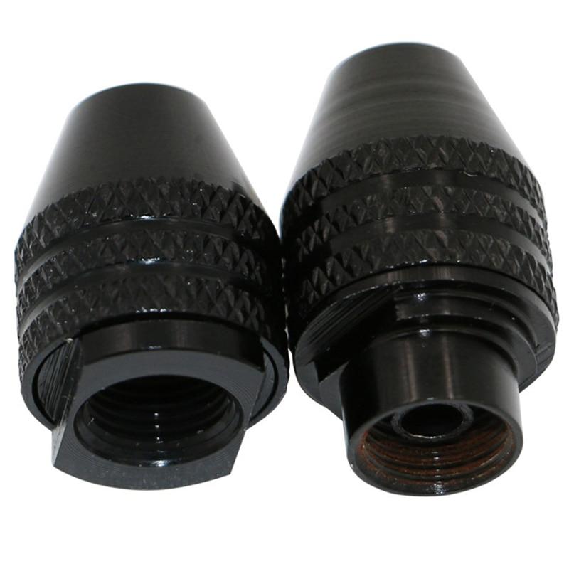 1 шт. 0,3-3,4 мм мини мульти Быстрозажимной сверлильный патрон для вращающихся инструментов M8X0.75 быстрая замена трехкулачковый сверлильный патрон