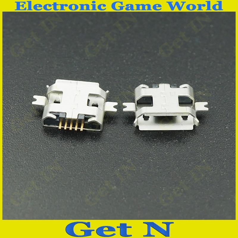 5 دبابيس مايكرو USB جاك موصل الذيل شحن USB المقبس ل موتو 4000 قطعة/الوحدة
