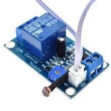 5 V 12 V interrupteur de contrôle de la lumière photorésistance Module de détection capteur de détection 10A luminosité Module de contrôle automatique XH-M131