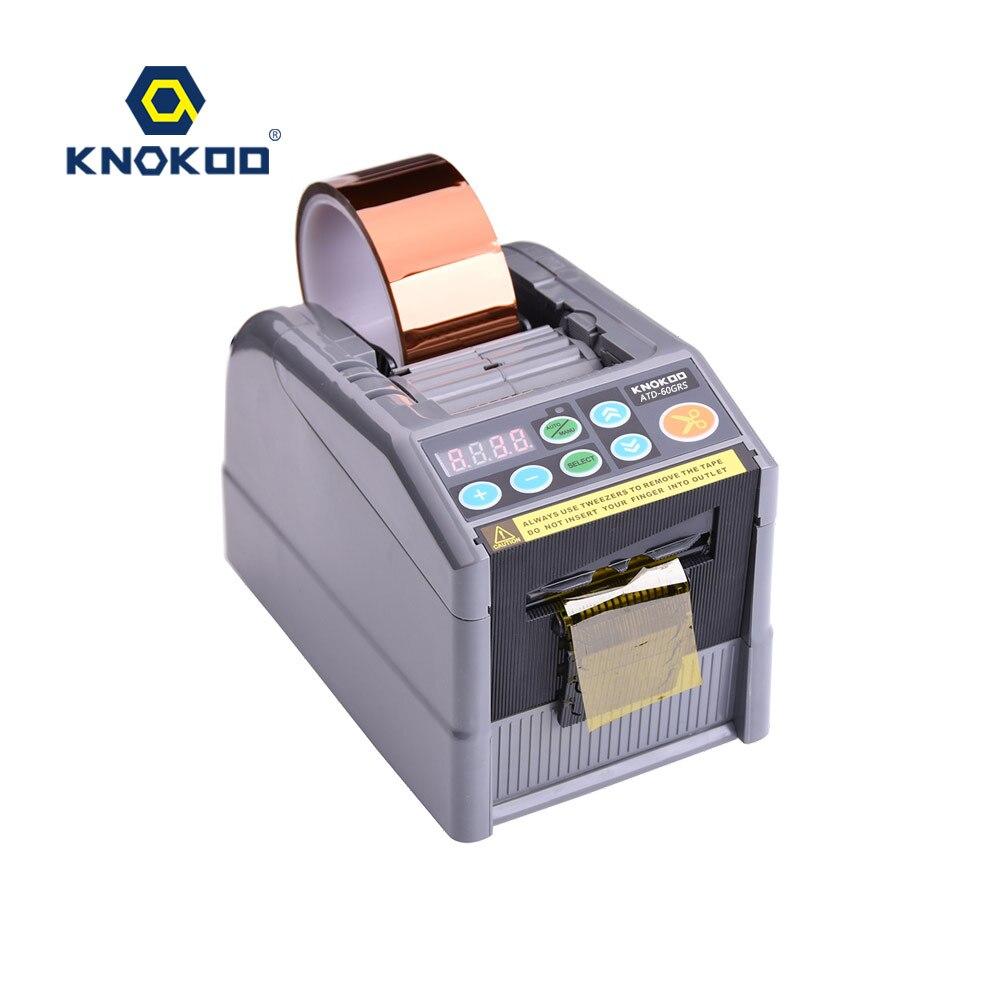 نسخة مطورة التلقائي الشريط موزع ATD-60GRS الكهربائية الشريط القاطع آلة ل سمكا و عالية التصاق الشريط