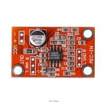 AD828 carte de préamplificateur de Microphone dynamique stéréo Module de préampli de micro DC 3.8V-15V S927