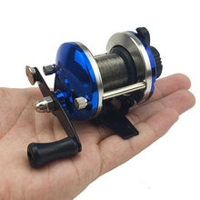 Mini Metal Bait Casting Boat Ice Fishing Reel Fish Bait cast Compact Design Metal Distant Bait cast Reel for Winter Fishing