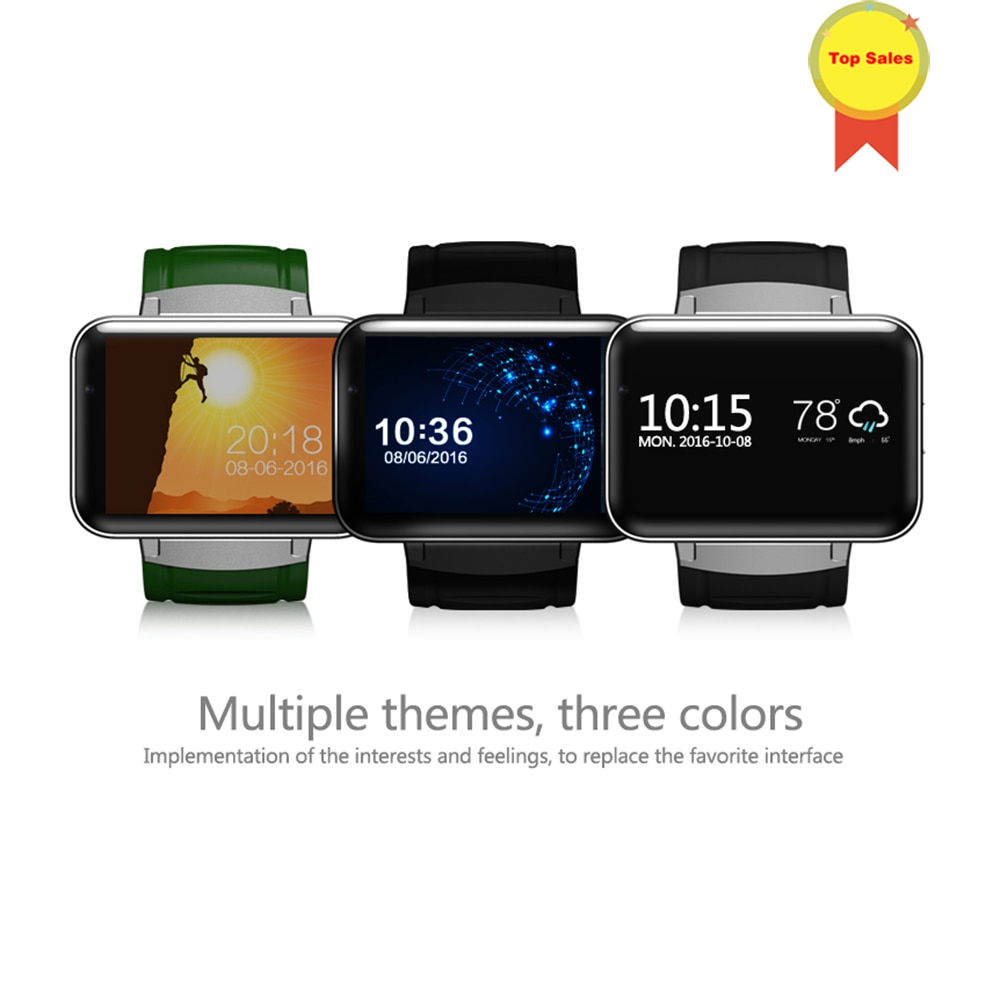 kw88 android 5 1 os smartwatch electronics android 1 39 mtk6580 smart watch phone support 3g wifi gps for apple samsung les2 Bluetooth Smart Watch 2.2 inch Android OS 3G Smartwatch Phone MTK6572A Dual Core 1.2GHz 512MB RAM 4G ROM Camera WCDMA GPS v DM98