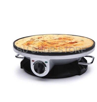صانع كريب كهربائي بيتزا عموم ماكينة صنع الكعك غير عصا صينية مقلاة خبز ماكينة صنع الكعك أدوات المطبخ الطبخ