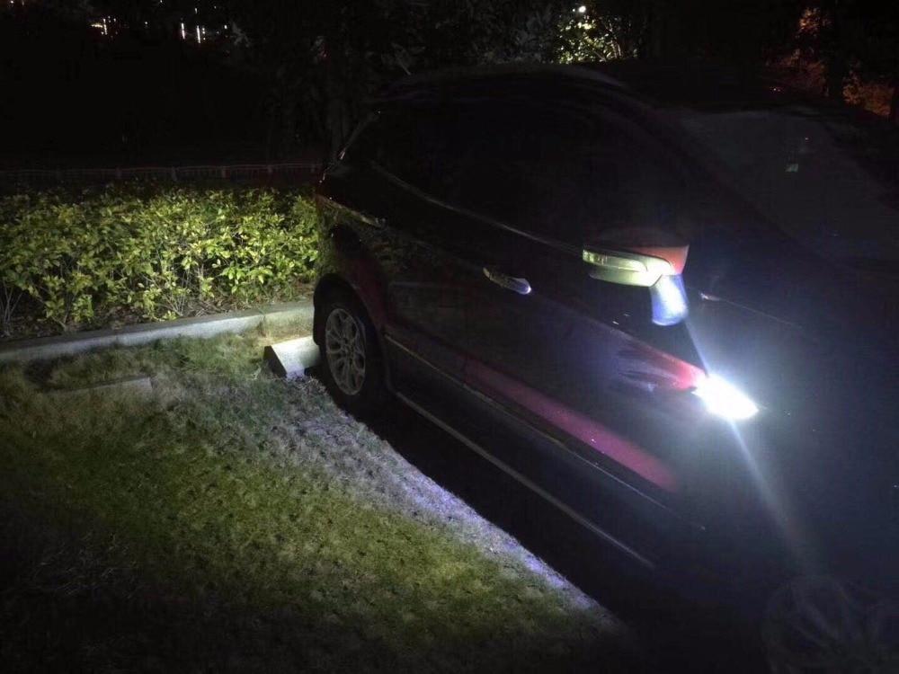 Luces de circulación diurna led Qirun, luces de conducción de guardabarros reverso drl, señal de giro para mercedes-benz GL550 GL63 AMG GLA200