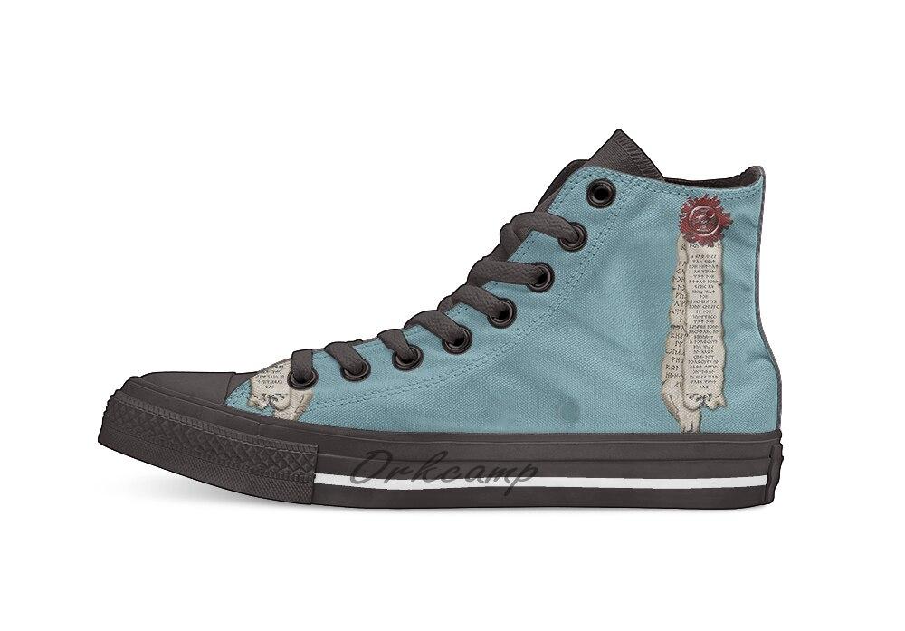 Zapatos de lona puty Seal Casual High Top zapatillas Zapatillas de andar ligeras