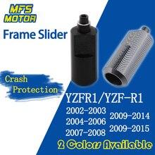 Für Yamaha YZFR1 YZF R1 No Cut Rahmen Slider Crash Pads Fallen Protector 2002 2003 2004 2005 2006 2007 2008 2009 2010 2011-2015
